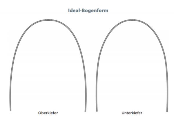 """Sentalloy Bögen .016"""" Idealform, light, UK"""