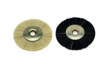 Polirapid-Bürsten, Miniaturbürsten unmontiert + Ziegenhaar/ Chungking-Borsten