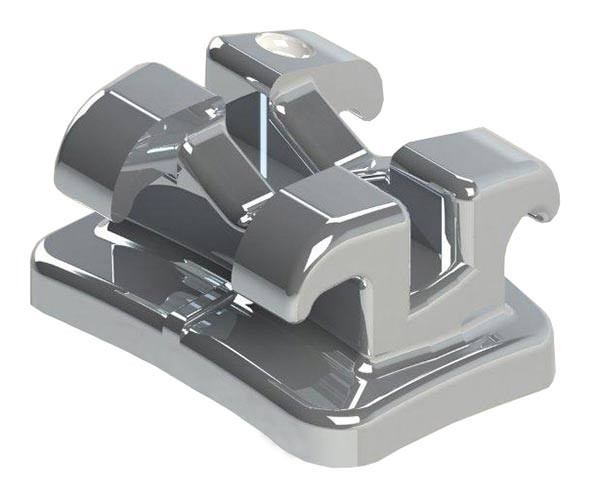 "Space-Brackets (nickelfrei) Roth .018"", Einzelbrackets"