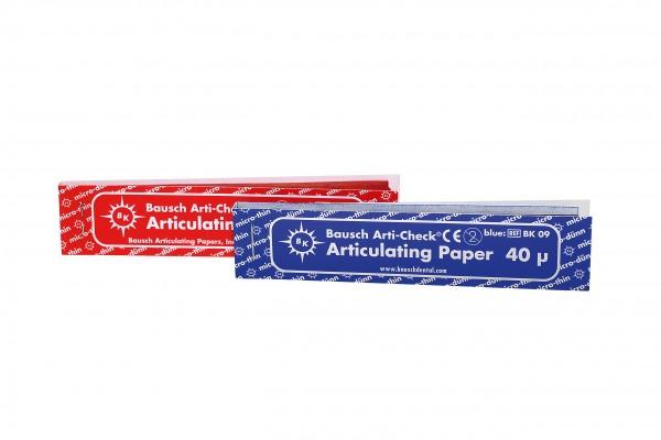 Artikulationspapier – von Bausch BK 09 = 0,04 mm