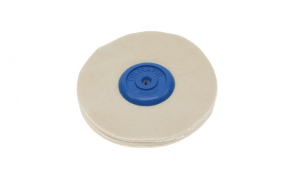 Polirapid-Schwabbel, aus weichem Flanellstoff