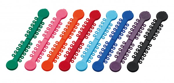 Gummiligaturen an Sticks