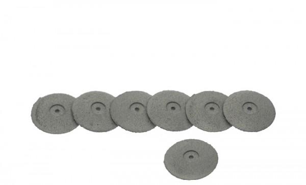 Weiße Linsen aus Silikon für Kunststoffe und Gipse