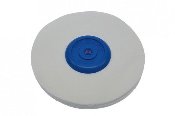 Polirapid-Schwabbel, Nessel-Schwabbel mit konischem Kunststoffkern – fein