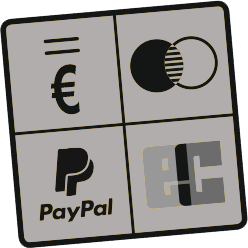 Rechnung, Kreditkarte, Paypal, Bankeinzug