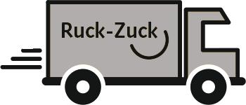 Ruck-Zuck-Lieferung per Post oder UPS